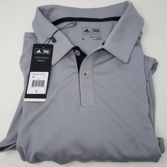 Adidas Polo Shirt Xxl Brand New Black 3 Stripe Casual Sports Ect Clothing, Shoes & Accessories
